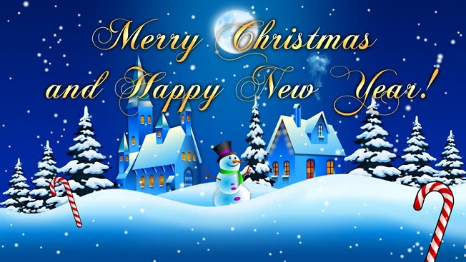 Merry Christmas Greeting Cardxmas Cards For Whatsapp