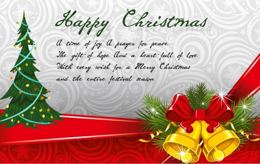 merry christmas greeting card image