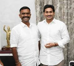 Kethireddy mla and cm jagan