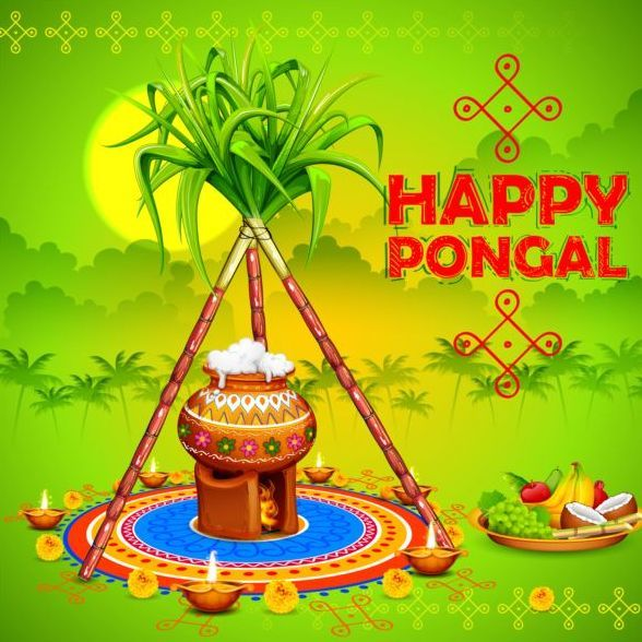 Happy Pongal Wishes Image